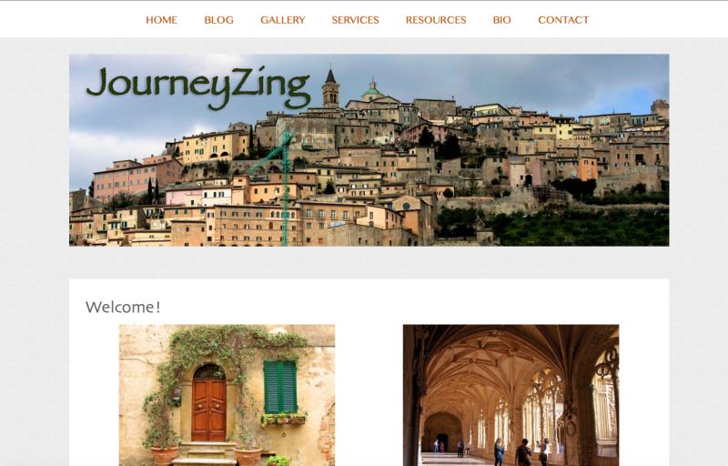 JourneyZing Landing Page